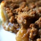 Grandma's Dutch Apple Pie with Crumble Topping