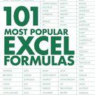 101 Most Popular Excel Formulas ebook by John Michaloudis   Rakuten Kobo
