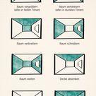 Leicht erklärt Wie Wandfarben die Wirkung der Wohnung verändern