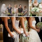 Glitter Bridesmaid Dresses