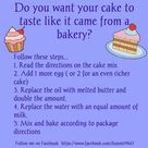 Recipes Using Cake Mix