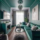 Schmales Wohnzimmer einrichten - Tipps für lange, schmale Räume
