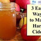 Hard Cider Recipe