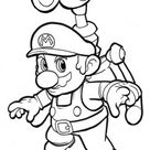 Print out cartoon Super Mario world coloring pages  - Free Kids Coloring Pages Printable