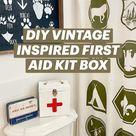 DIY VINTAGE INSPIRED FIRST AID KIT BOX