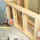 Shower Bench Seat Construction and Framing Step-by-Step