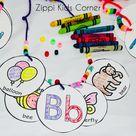 Alphabet Craft Letter Crafts Necklace
