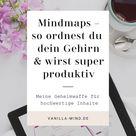 Mindmaps – die Wunderwaffe für Klarheit im Kopf