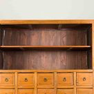 Chinese Late 19th Century Nam Wood Apothecary Cabinet with Multiple Drawers