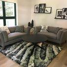 15 Wohnzimmer Ideen Braune Sofa