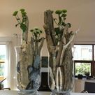 How to transform glass vases and jars into a beautiful decoration in only a few minutes: 25 rustic spring ideas that cost almost nothing   My desired home