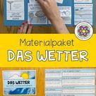 Das Wetter   Materialpaket für den Sachunterricht oder Erdkunde ab Klasse 5   Klima & Geographie