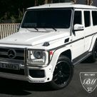 2002 MERCEDES BENZ G500 G63 For Sale White on Black