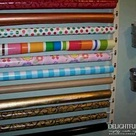 Organize Wrapping Papers
