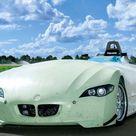 2004 BMW H2R Hydrogen Racecar Concept