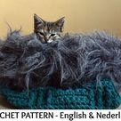 English + Dutch Crochet Pattern Anti-stress Basket Timataki for Dog and Cat - SPONSOR PROJECT