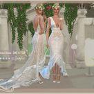 DanSimsFantasy's Bohemian Wedding Dress Alsine