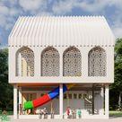 Desain Pondok Pesantren Madrasah Hidayatussaniyah   Gambar Rumah Online