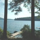 Family Cottage On Pristine Lake Nubanusit lake vacations, lake rentals, vacation rentals, lake house rental, lake home rental, lakefront, waterfront