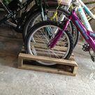Pallet Bike Racks