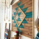 EVERLASTING LIFE Wood Wall Art  Wooden Wall Art  Geometric   Etsy