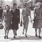 Die Damenmode der 40er Jahre   Rockabilly Rules Magazin