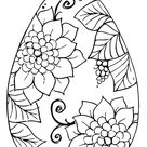Free Coloring page Easter / Kleurplaat Pasen