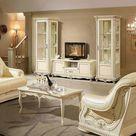 Wohnzimmermöbel Creme