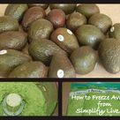 Freeze Avocado