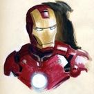 Iron Man Art Attack!