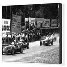 Box Canvas Print. 1947 Belgian Grand Prix