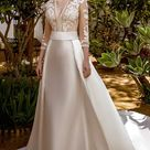 "María Salas Wedding Dresses — ""Marea"" Bridal Collection   Wedding Inspirasi"