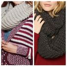 Chunky Infinity Scarves