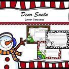 Dear Santa Fill in the Blank Letter Templates