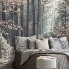 Wandgestaltung Schlafzimmer Ideen – Fresko Wandbekleidung