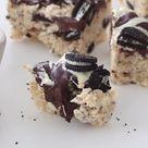 Cookies And Cream Rice Krispie Squares
