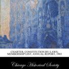 Charter, Constitution by-Laws; Membership list; Annual report, 1903