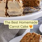 Easy Homemade Carrot Cake
