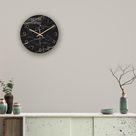 Kreatives Muster Steinwanduhr Acryl Wohnzimmer Dekoration BBZ210428002