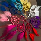 Dream Catcher Car Rear View Mirror Accessories Charm For Women Car Hanging Car accessory