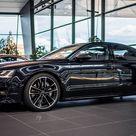 Carbon Black Metallic Audi S8 Plus Shows Off Its Elegant Silhouette   Carscoops