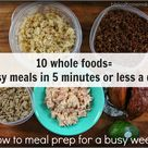 5 Minute Meals