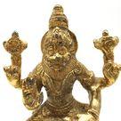 Vintage Lord Narasimha India Lion God Murti Deity Statue -Handmade Statue 5.5