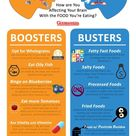 Brain Boosters and Brain Busters   Daily Infographic