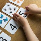 Zahlen lernen 7 Spielideen für Kinder inkl. Druckvorlagen