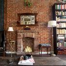 Brick Wall Fireplaces
