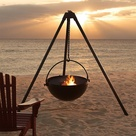 Beach Fire Pits