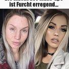 Die Macht des Make-ups ist Furcht erregend...