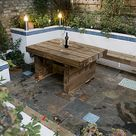 The Moroccan Courtyard Garden by Earth Designs. www.earthdesigns.co.uk. London Garden Design and landscape build.