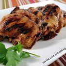 Chicken Thigh Marinade